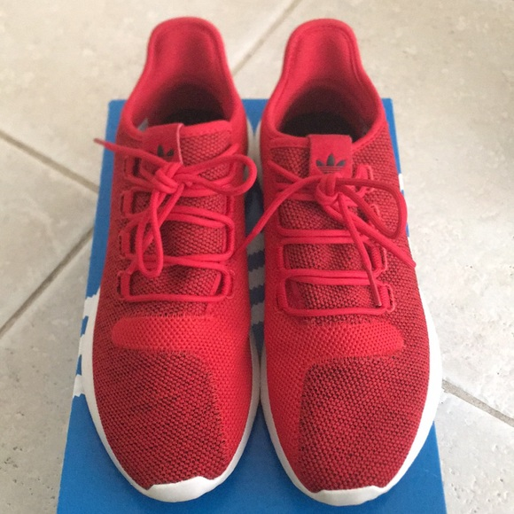 wholesale dealer b5009 0dd72 Men's Red Adidas Tubular Shadow